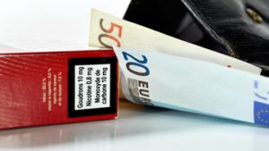 Prix des paquets de cigarettes